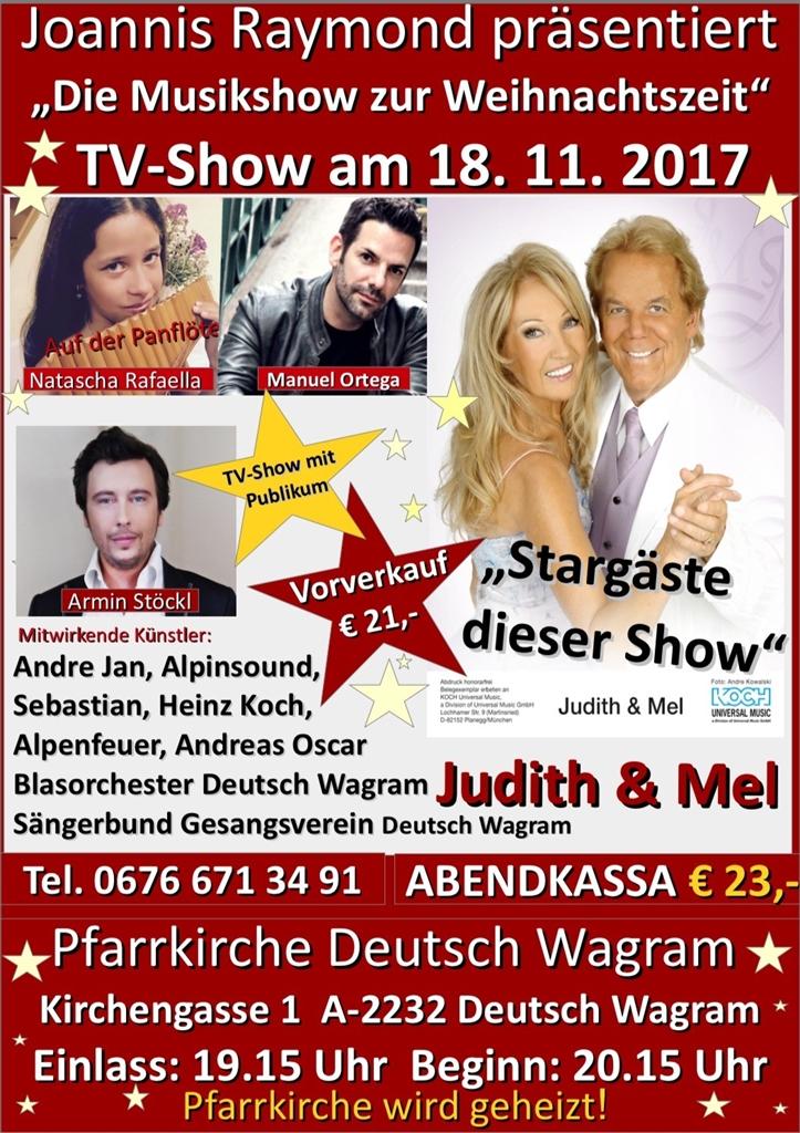 Die Musikshow Zur Weihnachtszeit Deutsch Wagram Stadtleben