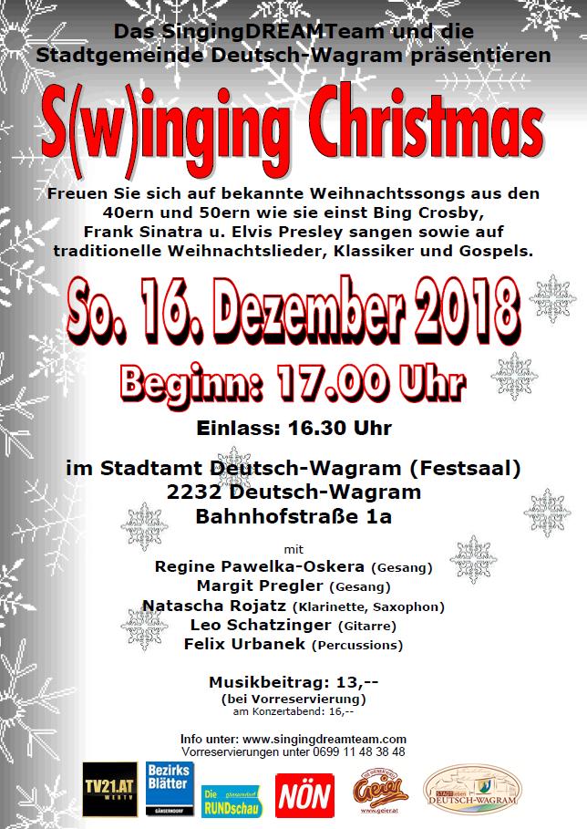 Traditionelle Weihnachtslieder.S W Inging Christmas Deutsch Wagram Stadtleben